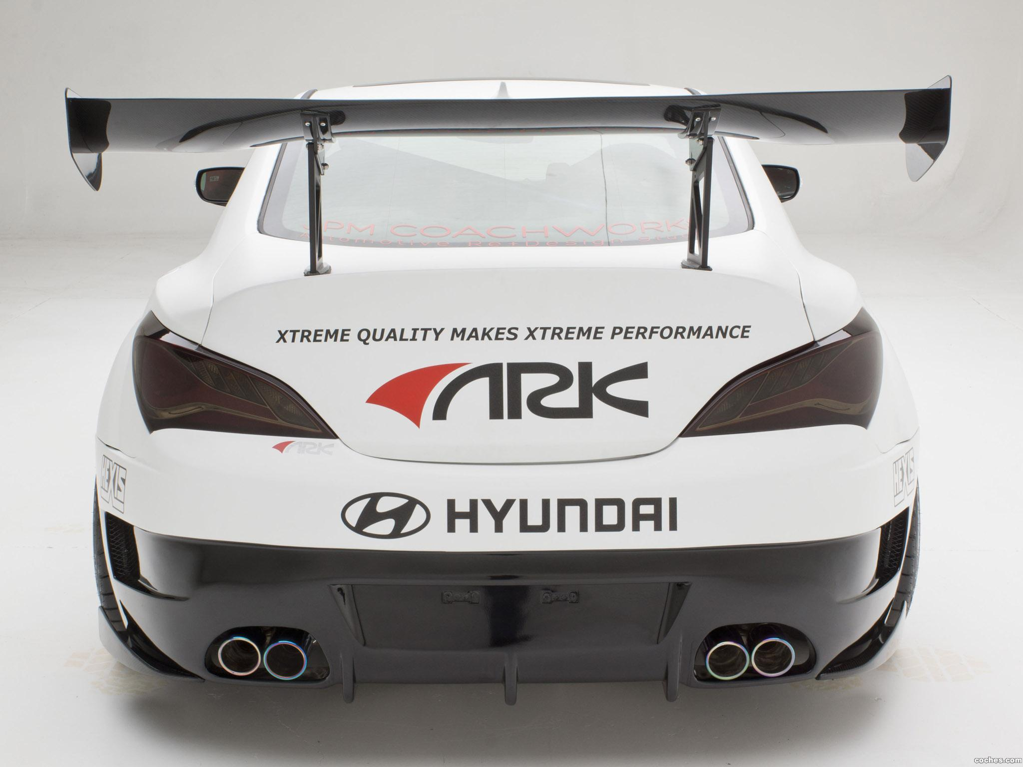 Foto 4 de Hyundai Genesis Coupe R-Spec Track Edition ARK Performance 2012