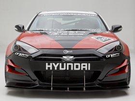 Ver foto 9 de Hyundai Genesis Coupe R-Spec Track Edition ARK Performance 2012