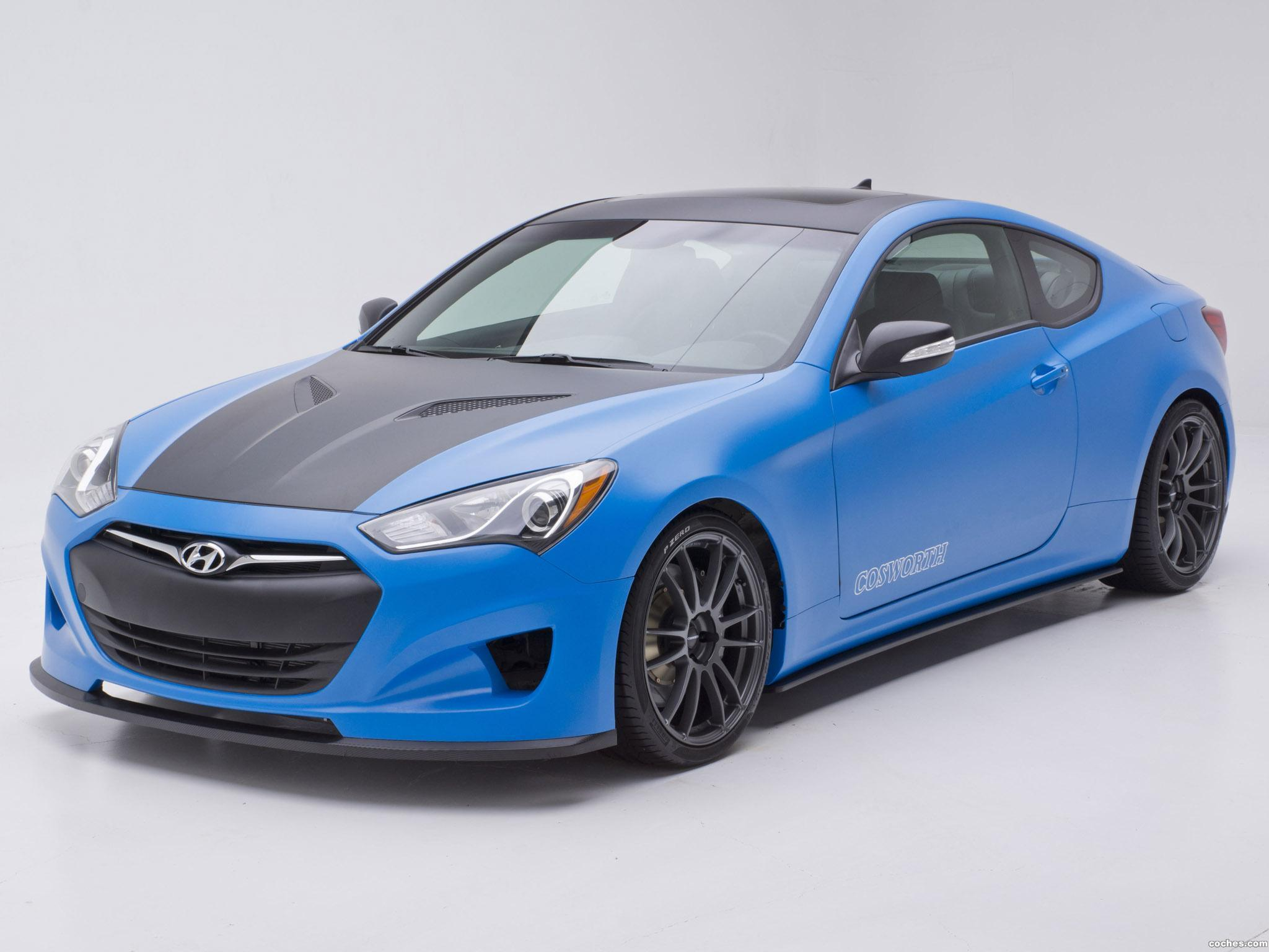Foto 0 de Hyundai Genesis Coupe Racing Series Concept by Cosworth Engineering 2012