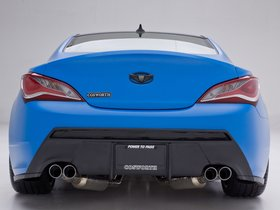Ver foto 8 de Hyundai Genesis Coupe Racing Series Concept by Cosworth Engineering 2012
