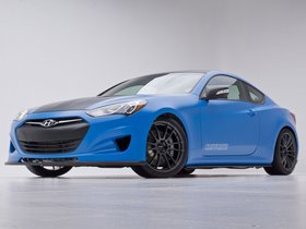 Ver foto 5 de Hyundai Genesis Coupe Racing Series Concept by Cosworth Engineering 2012