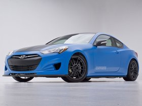 Ver foto 3 de Hyundai Genesis Coupe Racing Series Concept by Cosworth Engineering 2012