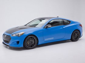 Ver foto 2 de Hyundai Genesis Coupe Racing Series Concept by Cosworth Engineering 2012