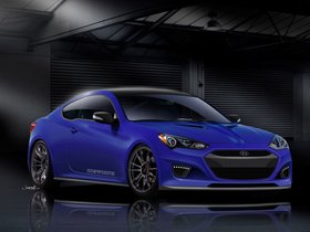 Ver foto 15 de Hyundai Genesis Coupe Racing Series Concept by Cosworth Engineering 2012