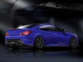 Ver foto 14 de Hyundai Genesis Coupe Racing Series Concept by Cosworth Engineering 2012
