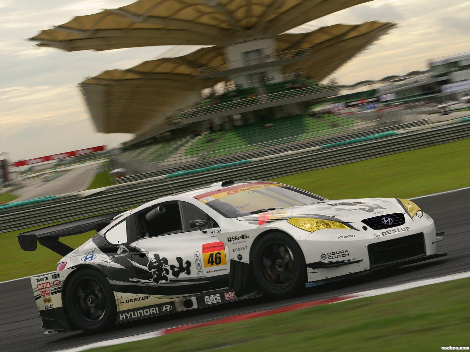 Foto 0 de Hyundai Genesis Coupe Super GT 2009