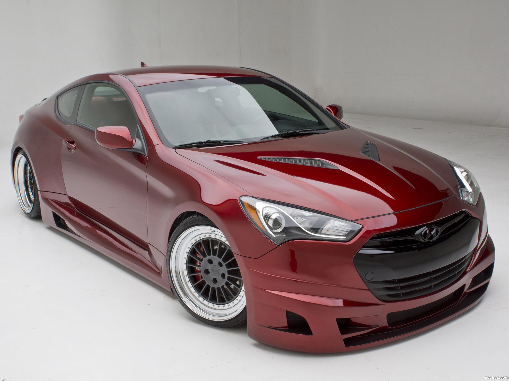 Foto 0 de Hyundai Genesis Coupe Turbo Concept FuelCulture 2012