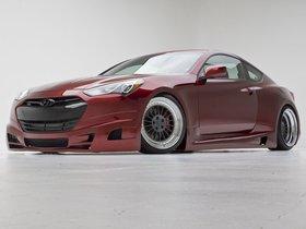 Ver foto 4 de Hyundai Genesis Coupe Turbo Concept FuelCulture 2012