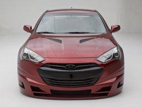 Ver foto 2 de Hyundai Genesis Coupe Turbo Concept FuelCulture 2012
