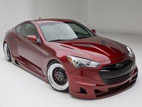 Fotos de Hyundai Genesis Coupe Turbo Concept FuelCulture 2012