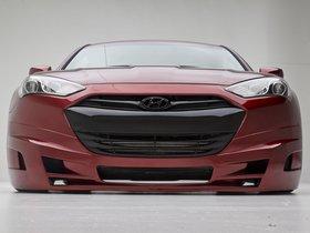 Ver foto 11 de Hyundai Genesis Coupe Turbo Concept FuelCulture 2012