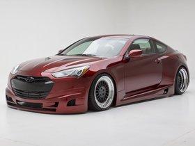 Ver foto 10 de Hyundai Genesis Coupe Turbo Concept FuelCulture 2012