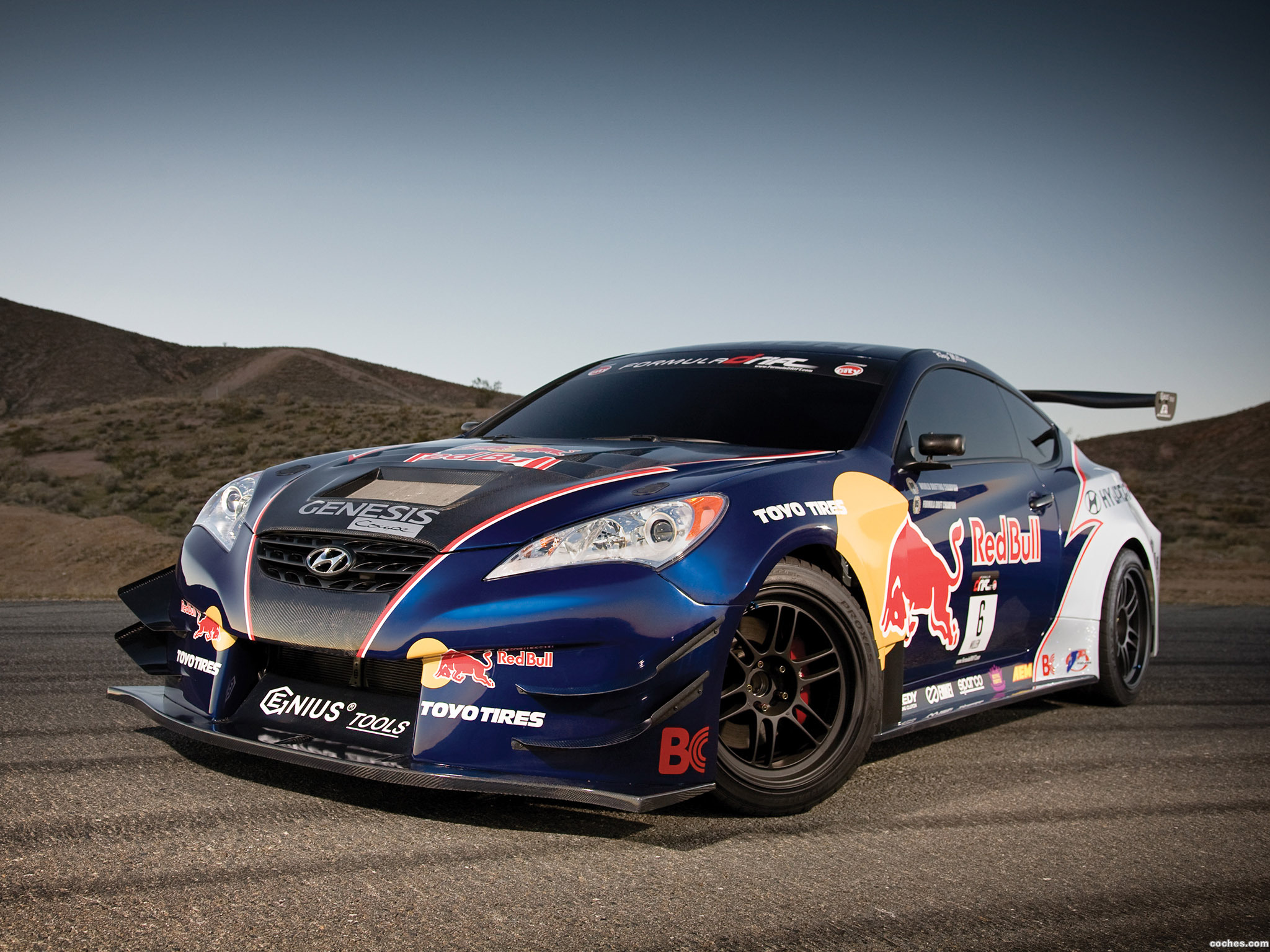 Foto 0 de Hyundai Genesis Coupe by RMR Red Bull 2009