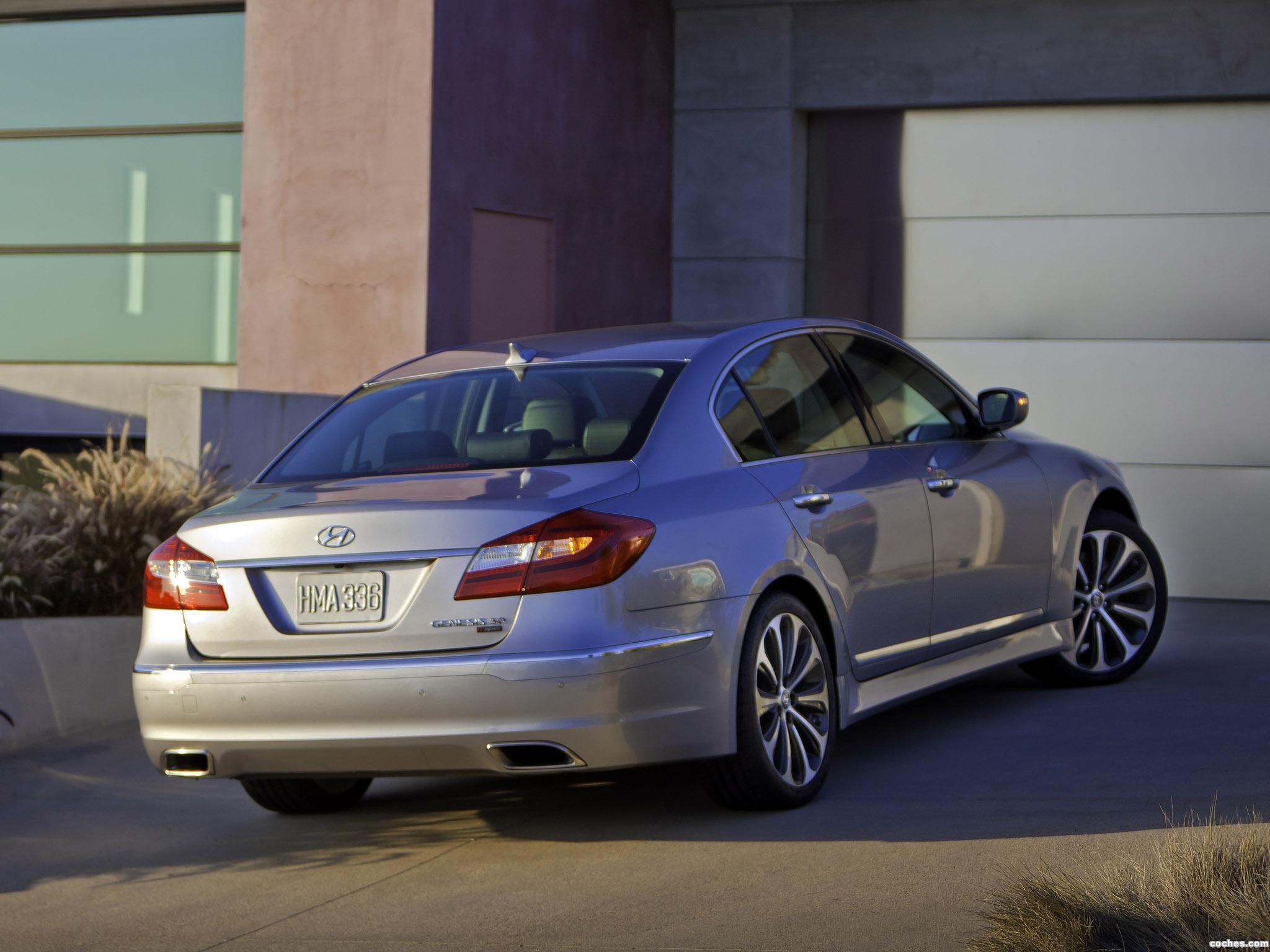 Foto 12 de Hyundai Genesis R-Spec 2010