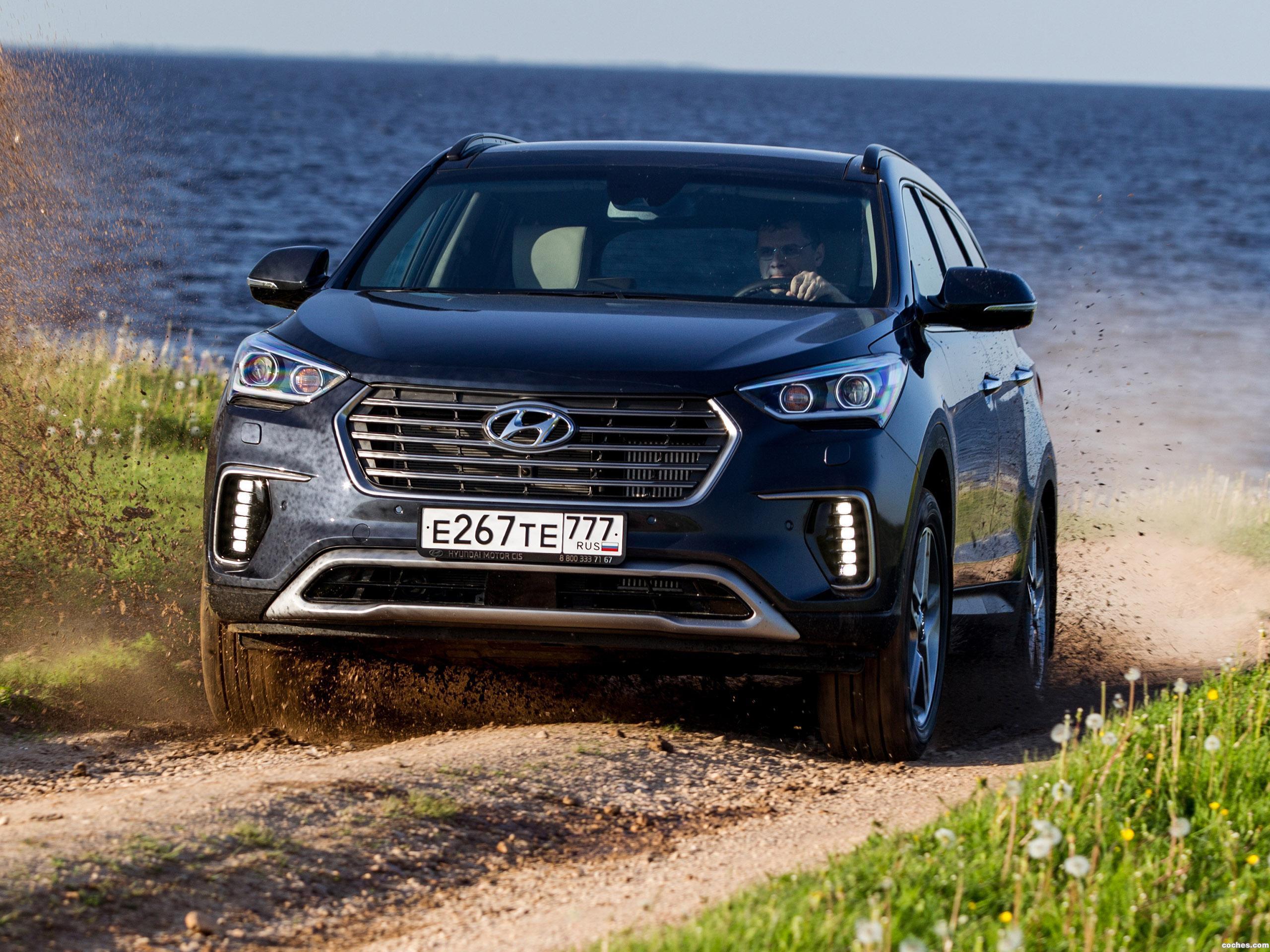 Foto 0 de Hyundai Grand Santa Fe 2016