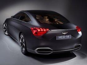 Ver foto 3 de Hyundai HCD-14 Genesis Concept 2013