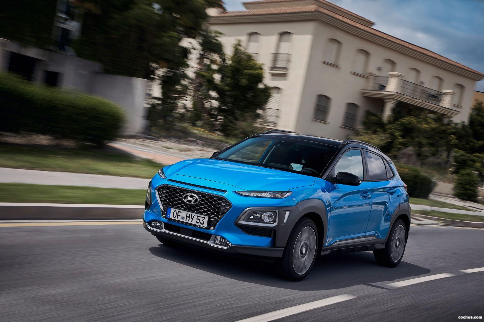 Foto 0 de Hyundai Kona Hybrid 2019