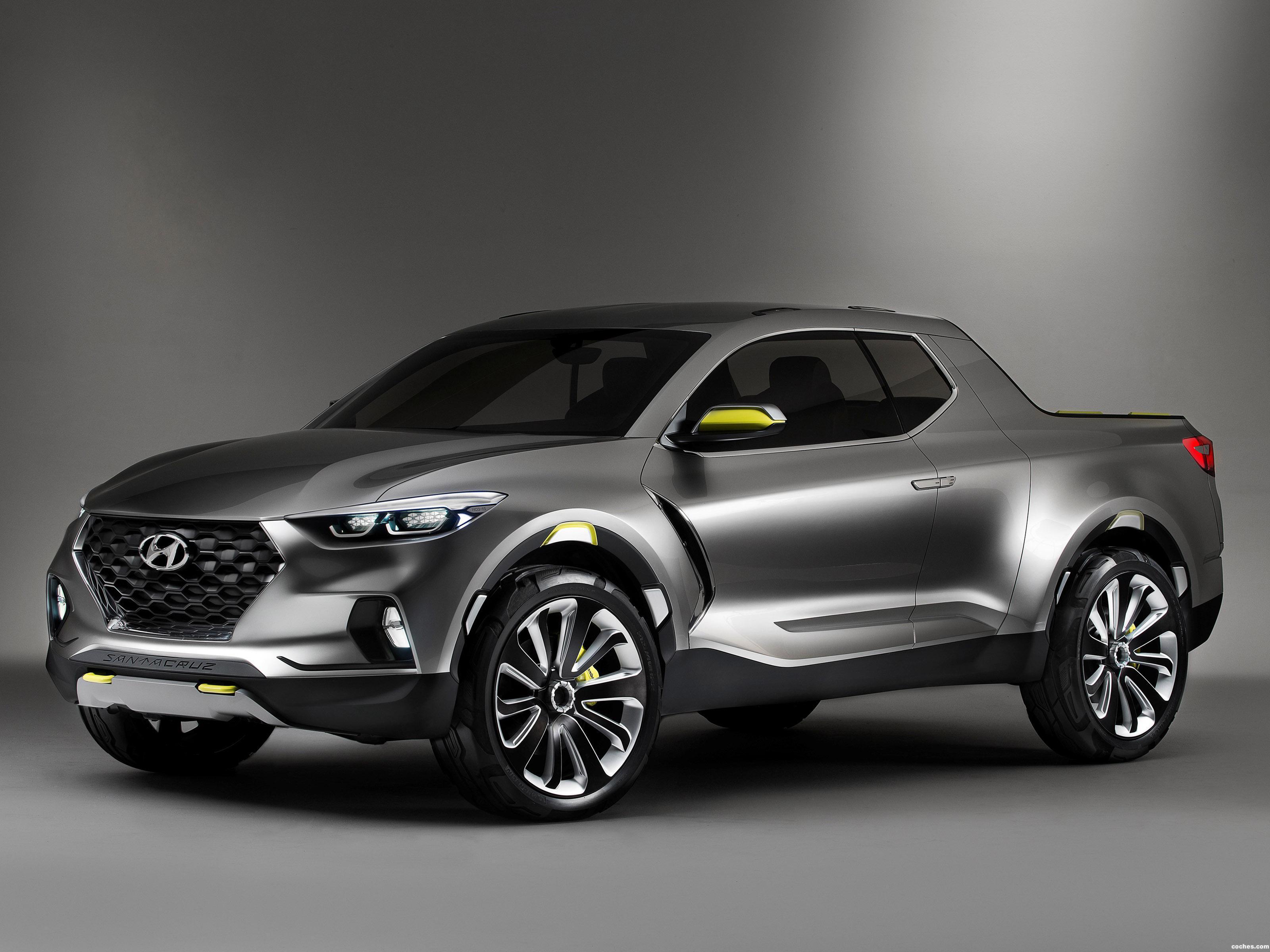 Foto 0 de Hyundai Santa Cruz Concept 2015