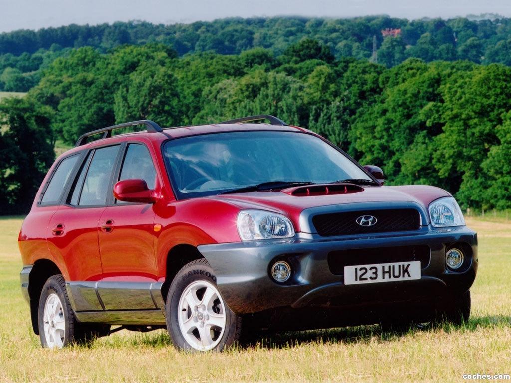 Foto 0 de Hyundai Santa Fe 2000