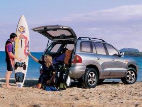 Ver foto 2 de Hyundai Santa Fe 2000
