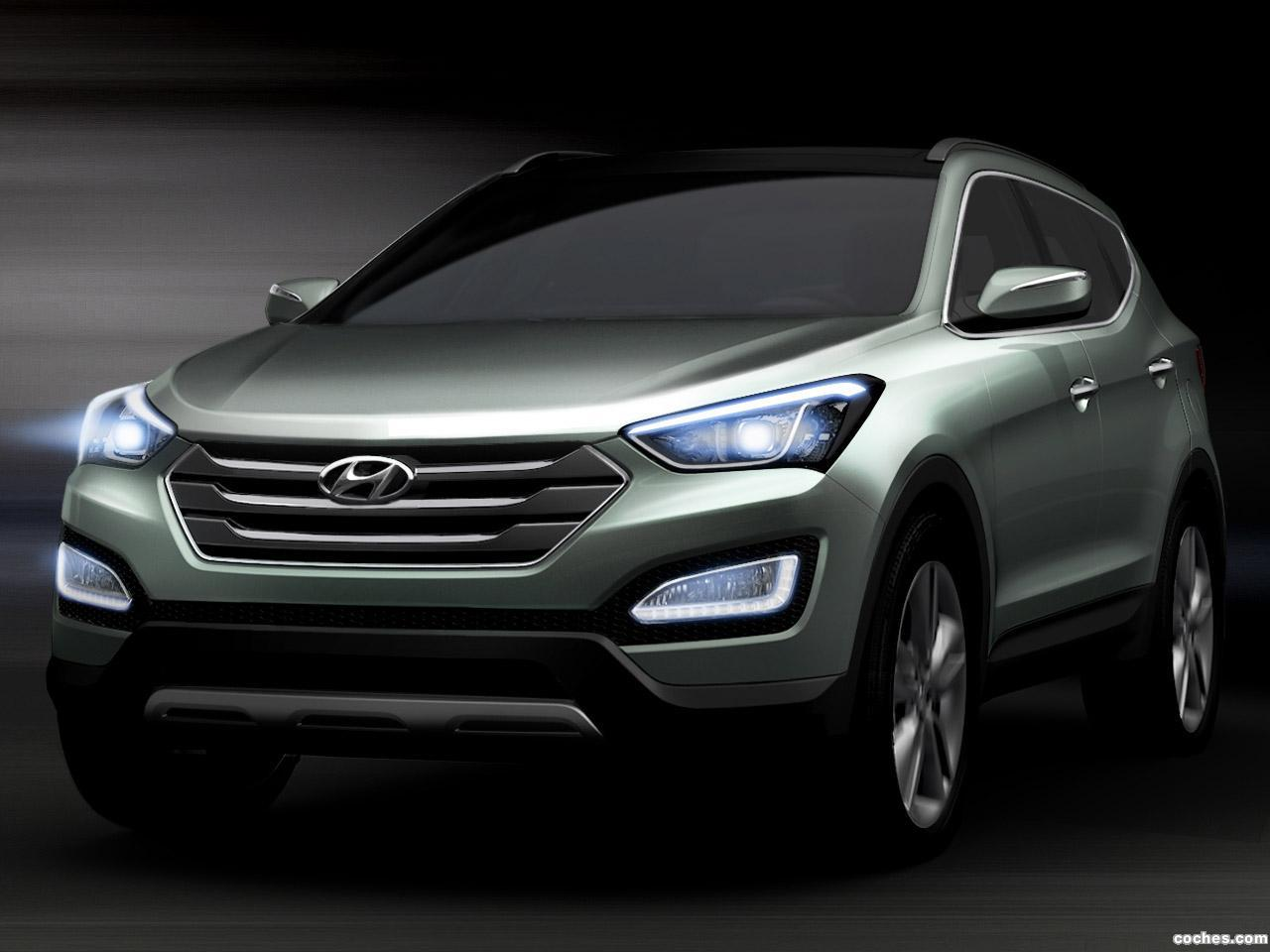 Foto 0 de Hyundai Santa Fe Concept 2012