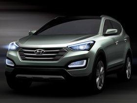 Ver foto 1 de Hyundai Santa Fe Concept 2012