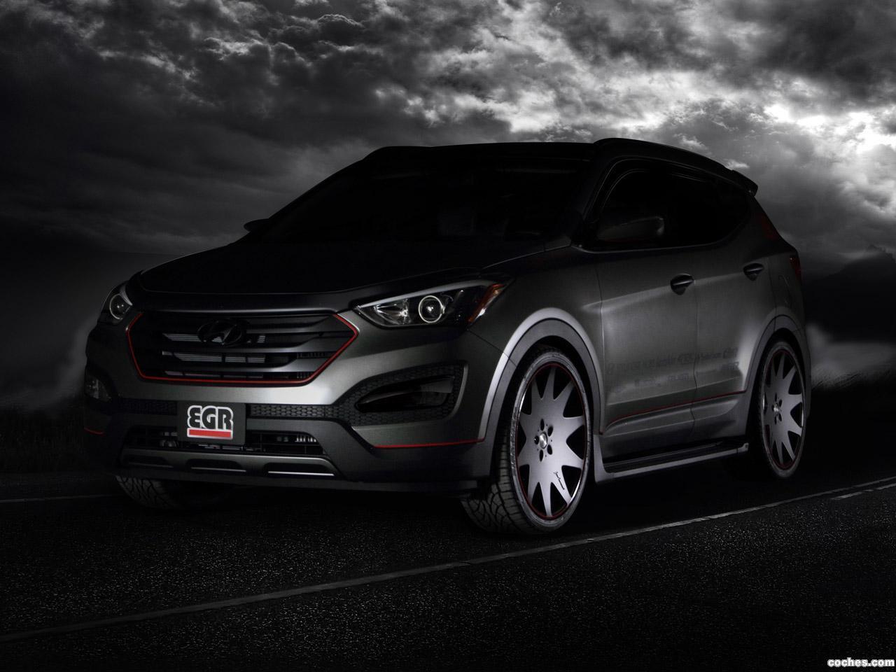Foto 2 de Hyundai Santa Fe Sport EGR 2012