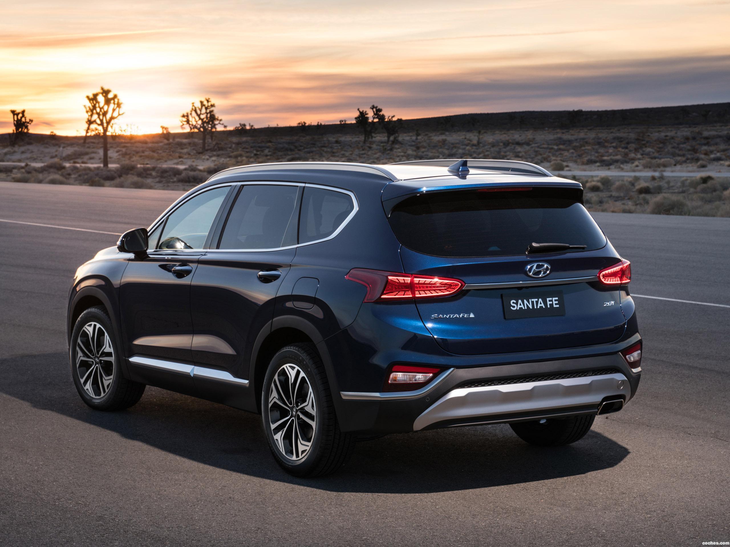 Foto 2 de Hyundai Santa Fe USA 2018