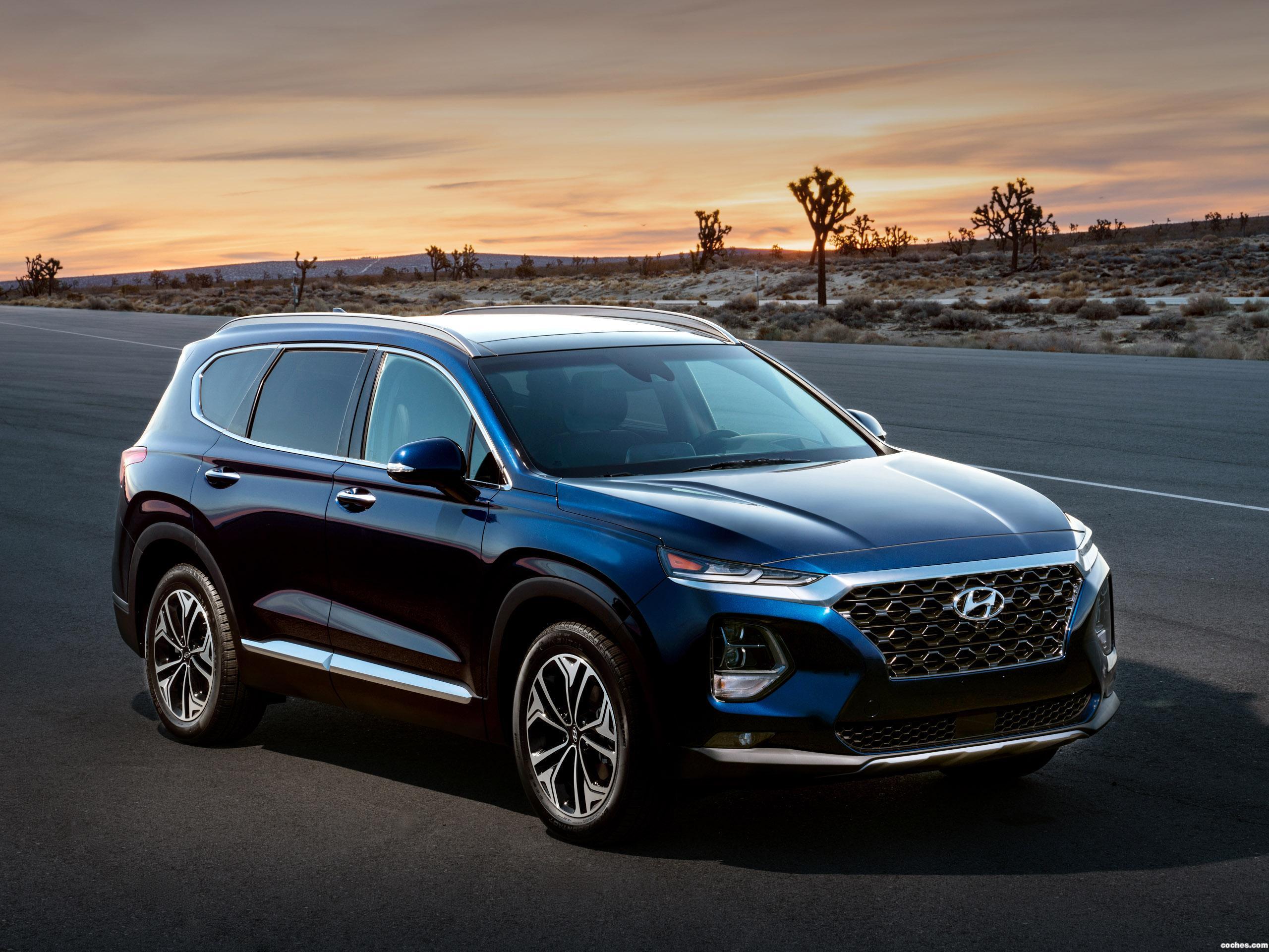 Foto 1 de Hyundai Santa Fe USA 2018