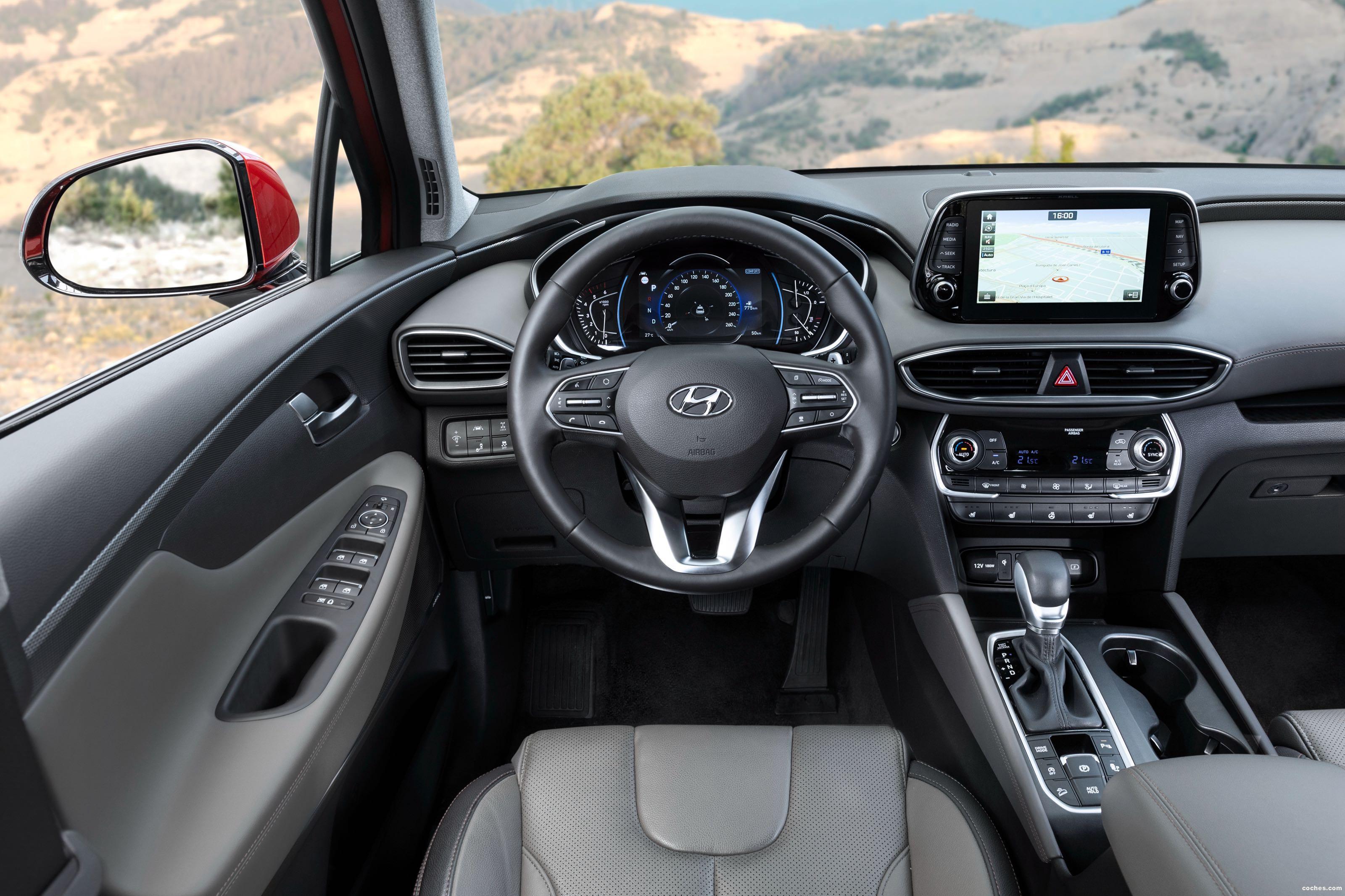 Foto 26 de Hyundai Santa Fe HTRAC 2018