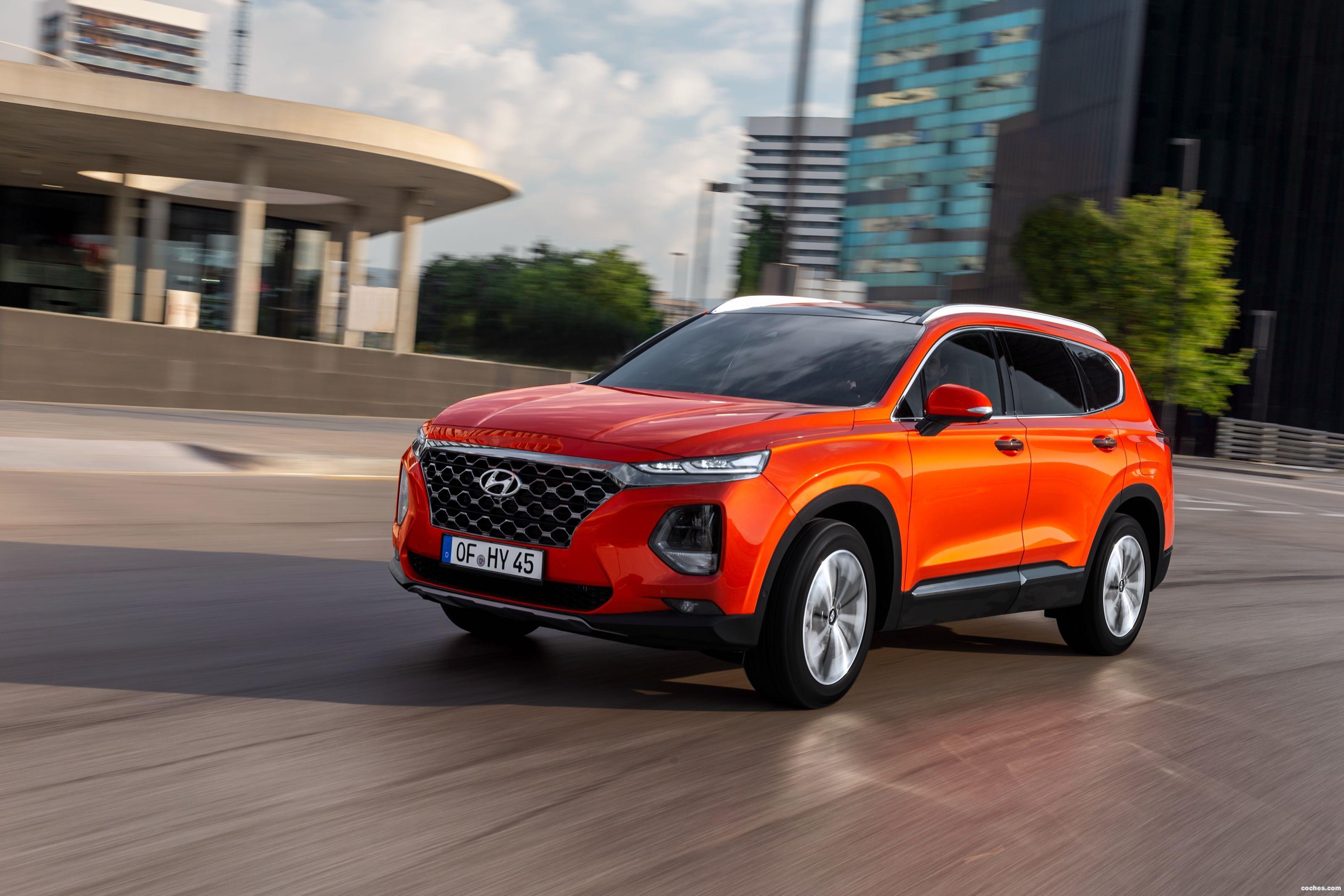Foto 10 de Hyundai Santa Fe HTRAC 2018