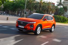 Ver foto 9 de Hyundai Santa Fe HTRAC 2018