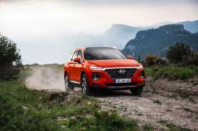 Ver foto 1 de Hyundai Santa Fe HTRAC 2018