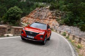 Ver foto 2 de Hyundai Santa Fe HTRAC 2018