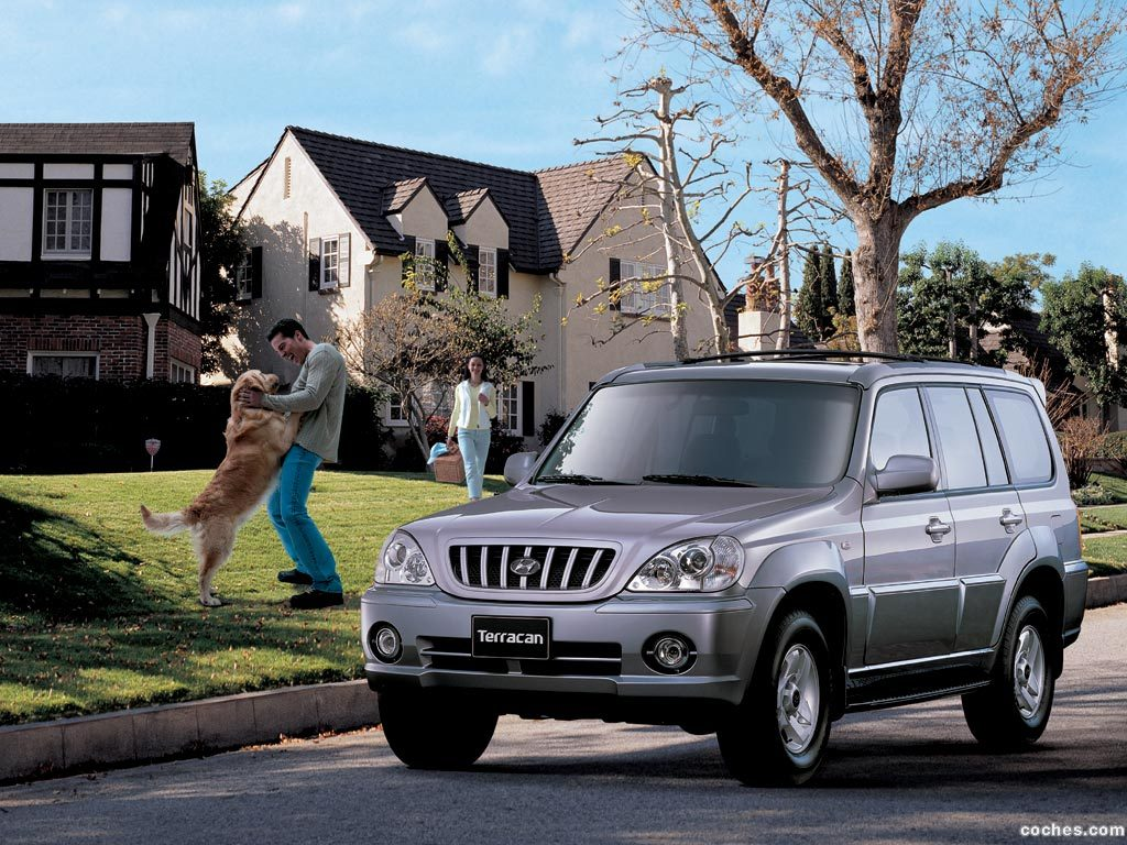 Foto 0 de Hyundai Terracan 2001