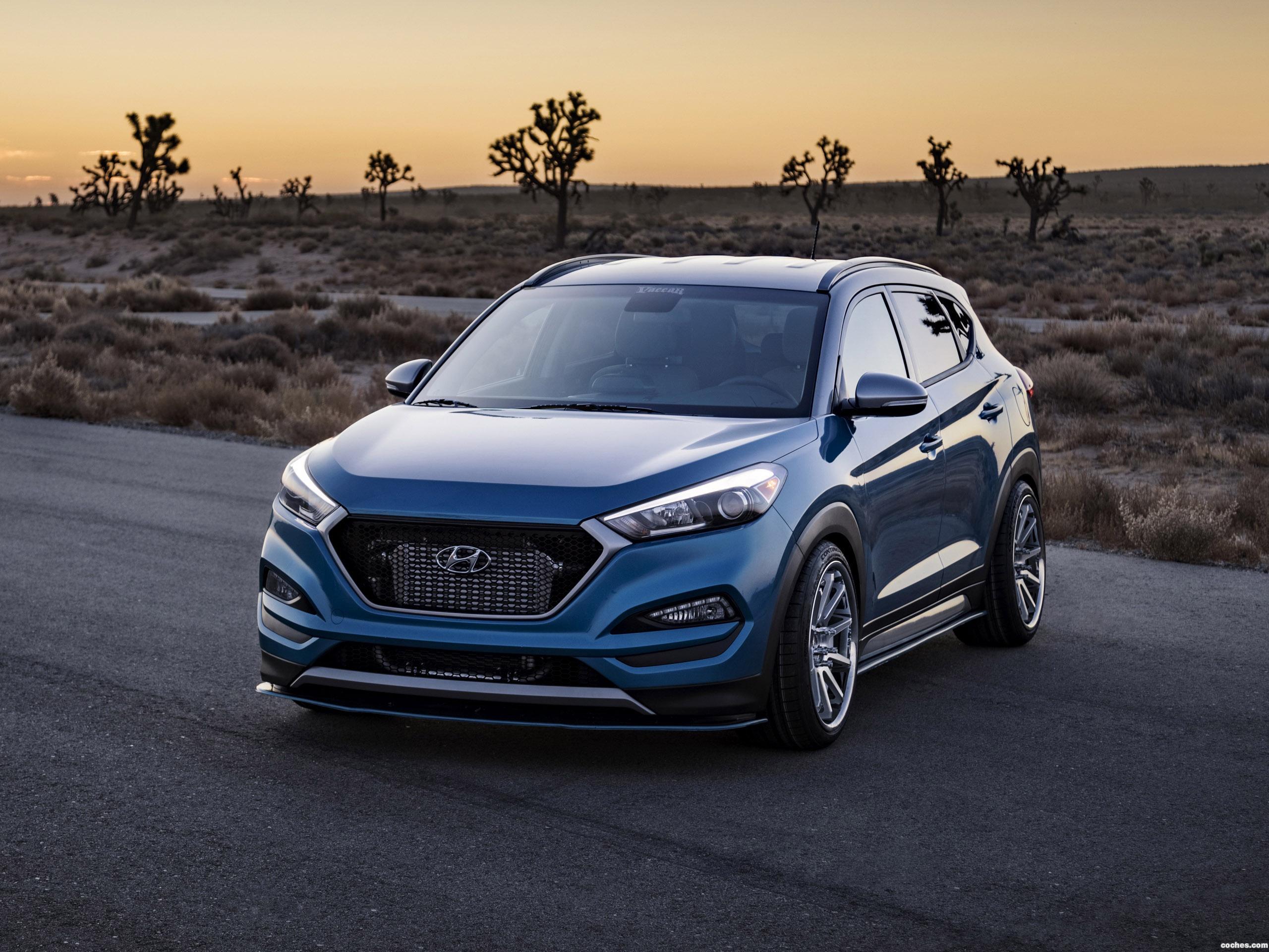 Foto 0 de Hyundai Tucson Sport Concept 2017