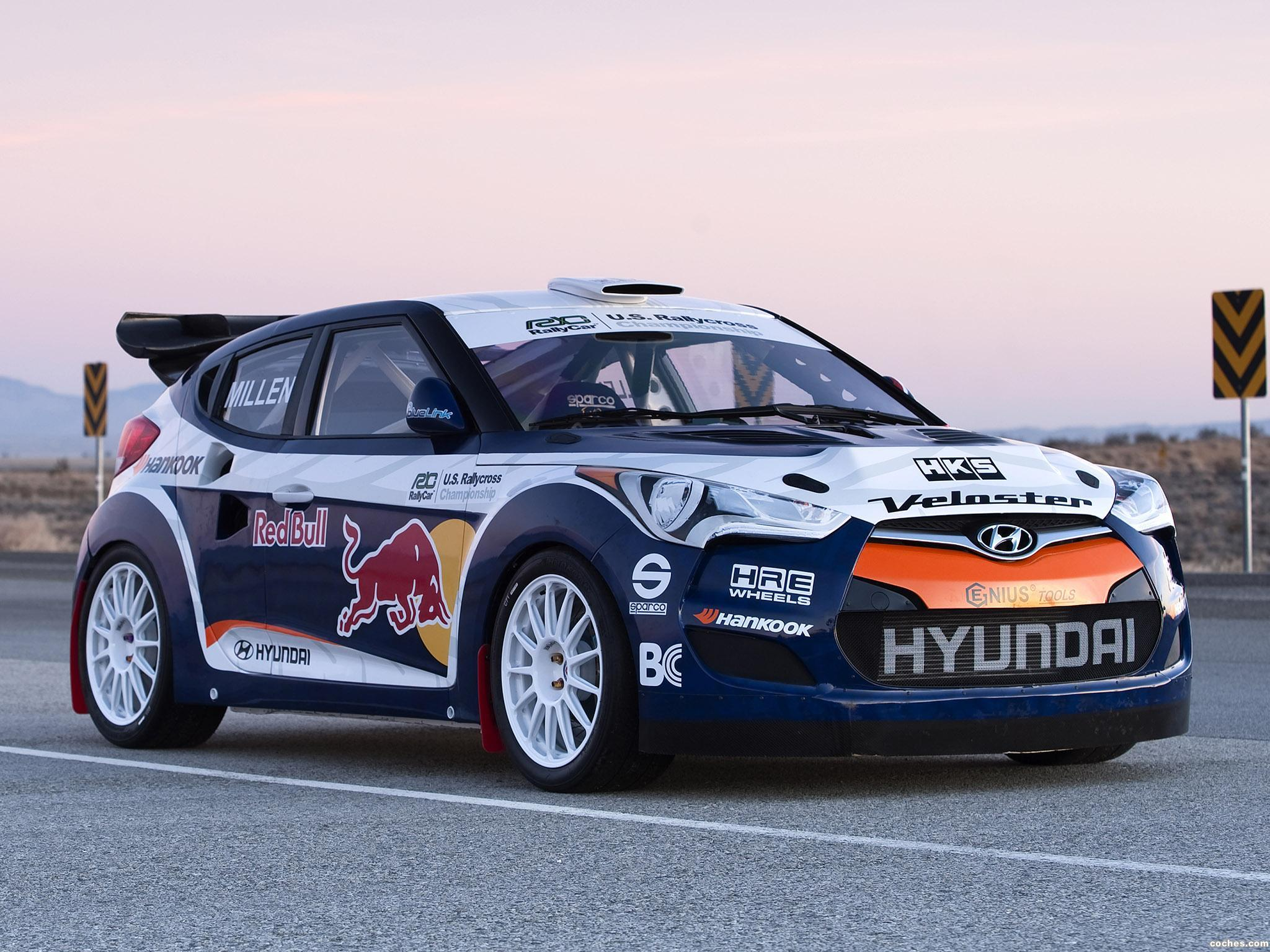 Foto 0 de Hyundai Veloster RMR Red Bull Rally Car 2011