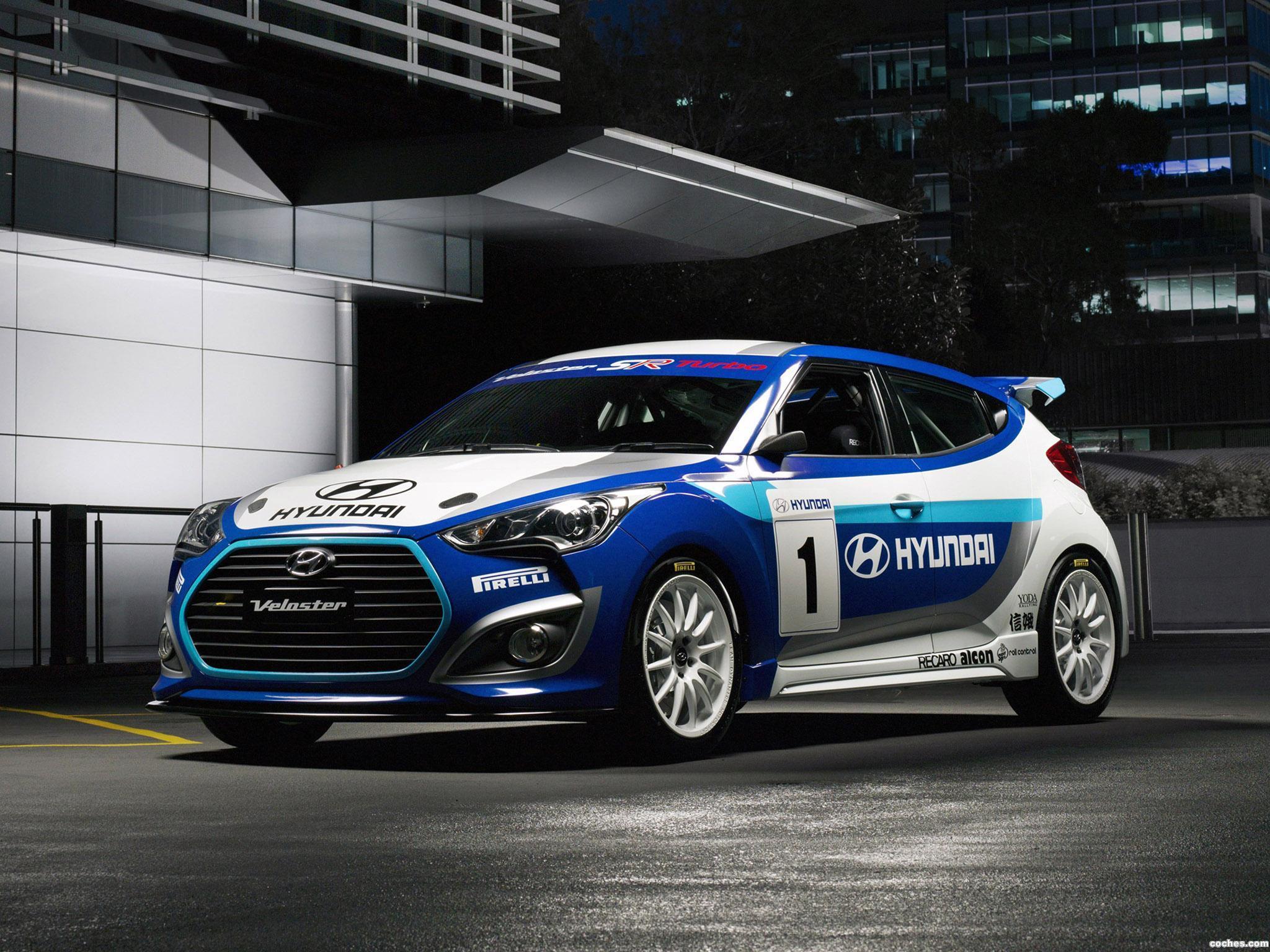 Foto 0 de Hyundai Veloster Race Concept 2012