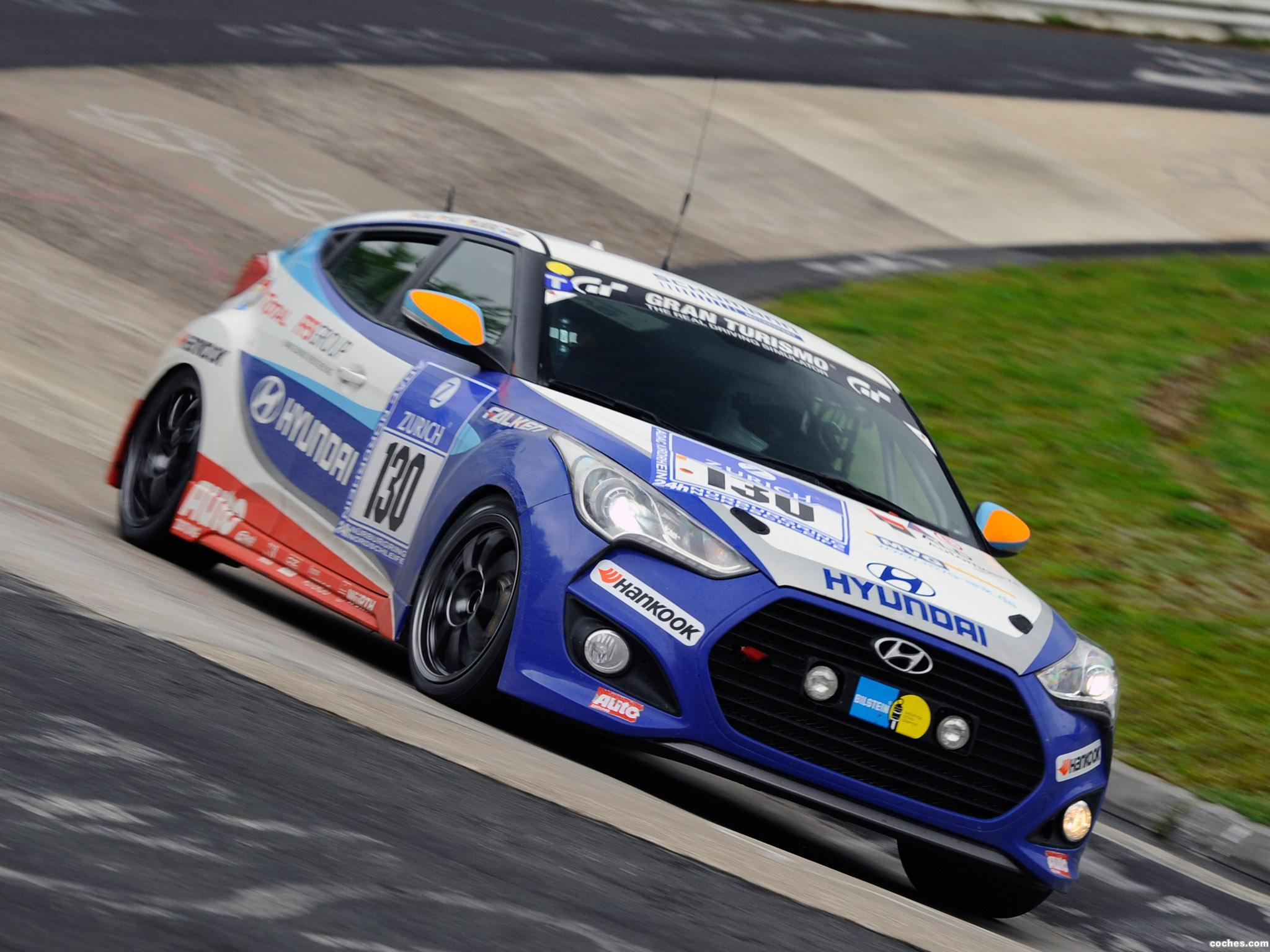 Foto 0 de Hyundai Veloster Turbo 24 Hour Nurburgring Race Car 2013
