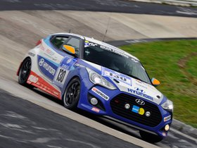 Ver foto 1 de Hyundai Veloster Turbo 24 Hour Nurburgring Race Car 2013