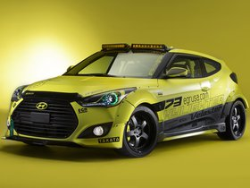Ver foto 1 de Hyundai Veloster Turbo Night Racer Yellowcake by EGR 2013