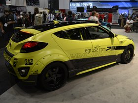 Ver foto 8 de Hyundai Veloster Turbo Night Racer Yellowcake by EGR 2013