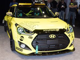 Ver foto 7 de Hyundai Veloster Turbo Night Racer Yellowcake by EGR 2013