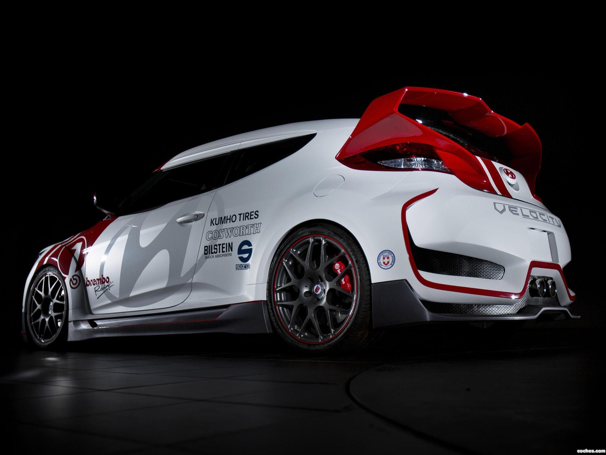 Foto 5 de Hyundai Veloster Velocity Concept 2012