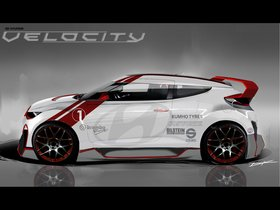 Ver foto 7 de Hyundai Veloster Velocity Concept 2012