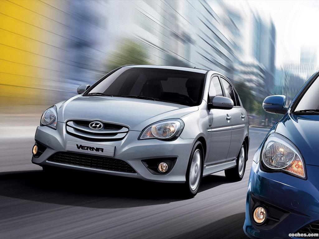 Foto 0 de Hyundai Verna 2009