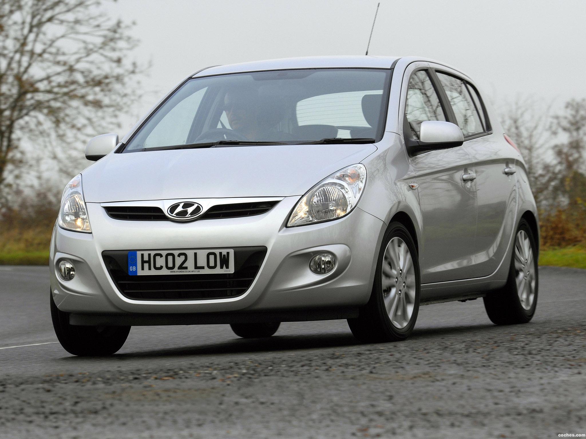 Foto 0 de Hyundai i20 5 puertas UK 2008