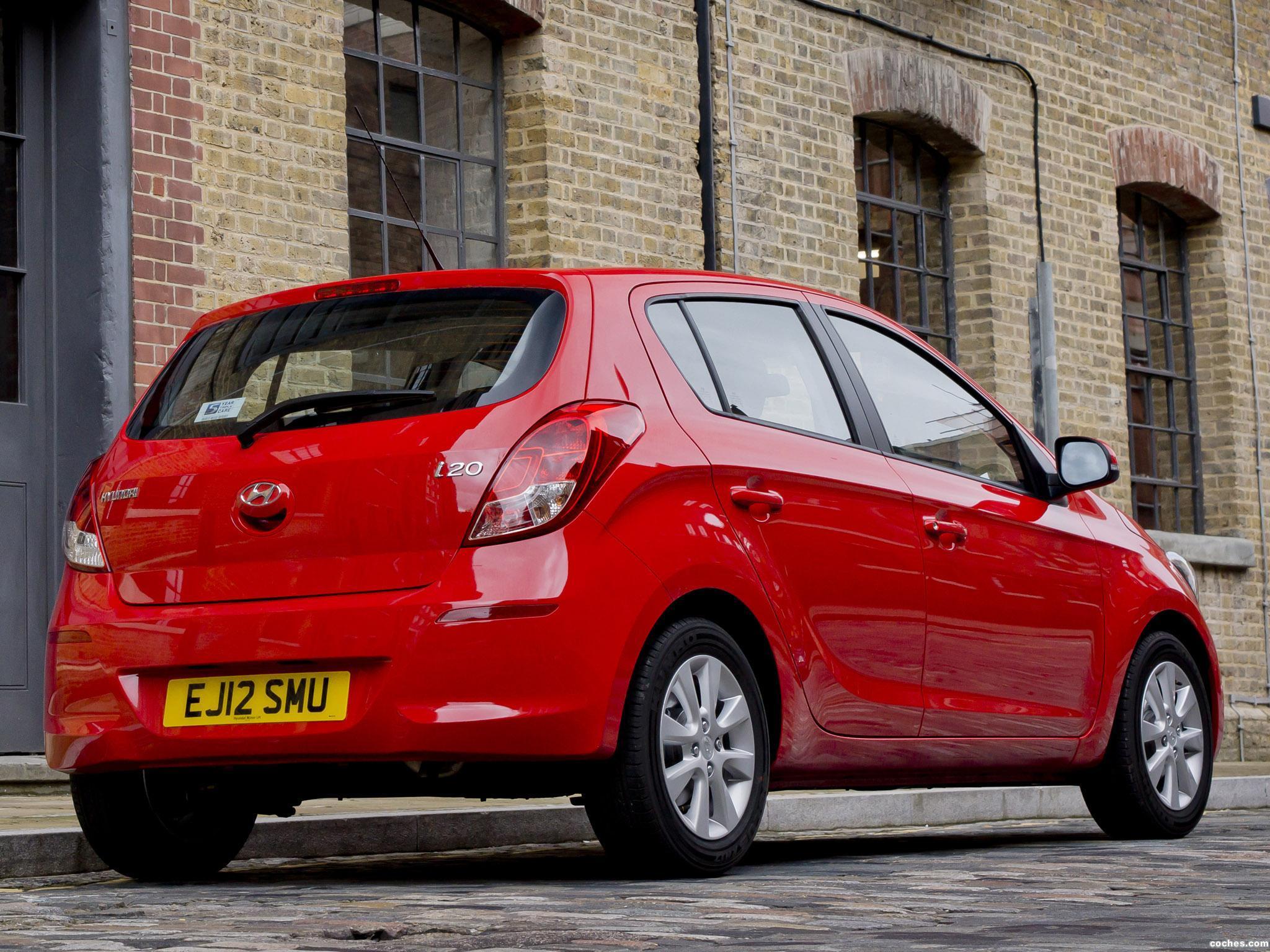 Foto 5 de Hyundai i20 UK 2012