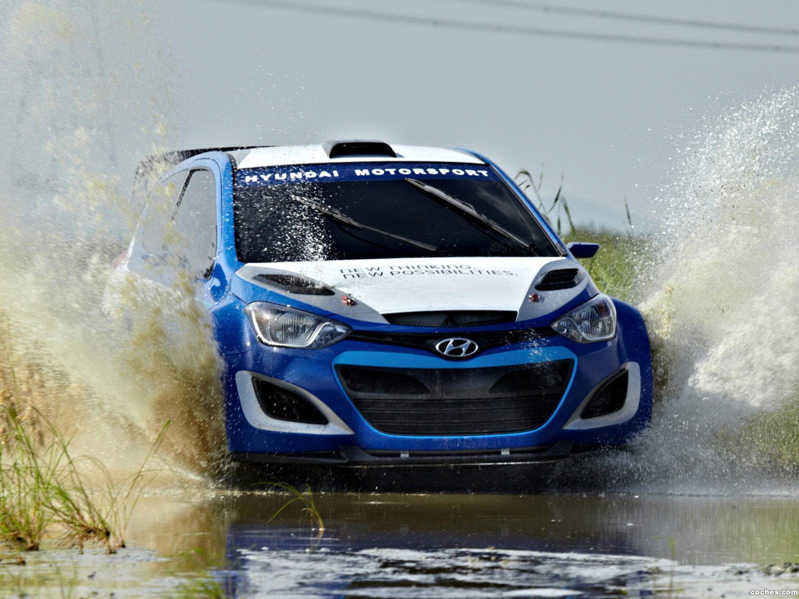 Foto 0 de Hyundai i20 WRC 2013