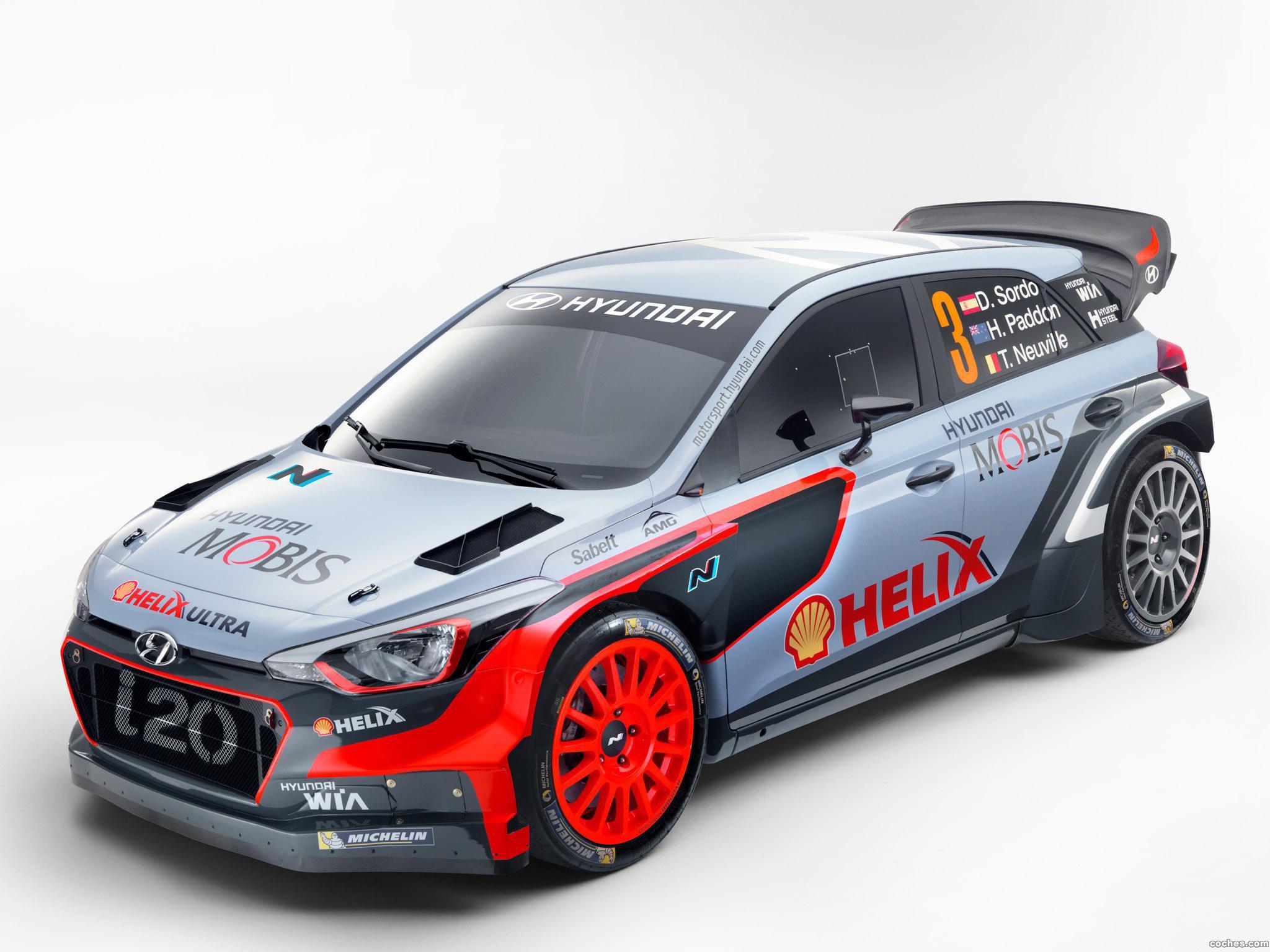 Foto 5 de Hyundai i20 WRC 2016
